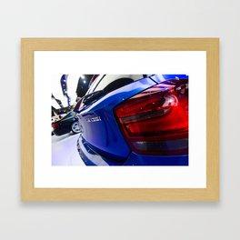 BMW M135i back Framed Art Print