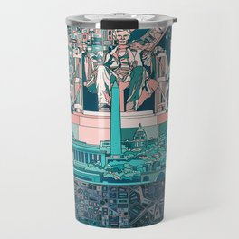 washington dc city skyline Travel Mug