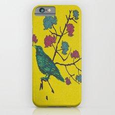 Crow Atop Flowering Branch 1 Slim Case iPhone 6s