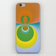 Colorful Space iPhone & iPod Skin