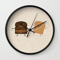 suit Wall Clocks featuring Slice! by Teo Zirinis