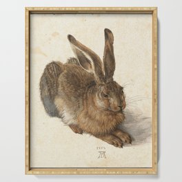 Young Hare Serving Tray