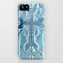 Celtic Blue - JUSTART © iPhone Case