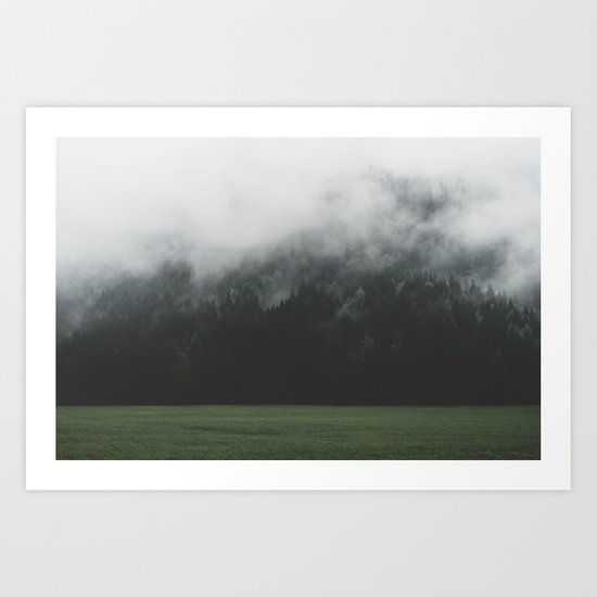 Spectral Forest - Landscape Photography Art Print