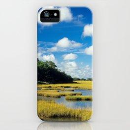 Marsh & Sky 1 iPhone Case