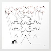 the Constellations Art Print
