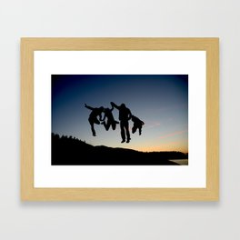 Seize the Summer Framed Art Print
