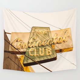 The Continental Club Wall Tapestry
