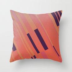 Canopus Peach Throw Pillow