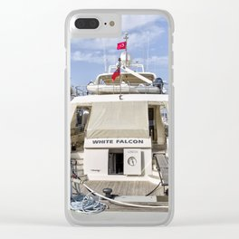 Falcon 102 SuperYacht Clear iPhone Case