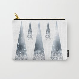 Geometric Winter Carry-All Pouch