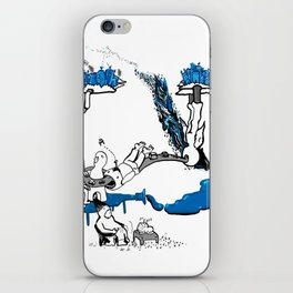 On and on iPhone Skin