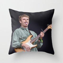 mac demarco art Throw Pillow