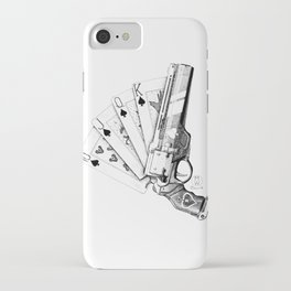 The Ace of Spades iPhone Case