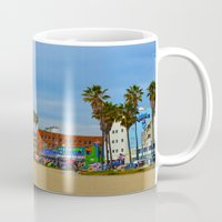 boardwalk empire Mugs featuring Boardwalk by Life Of A Lens Studios