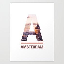 A-msterdam Art Print