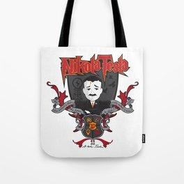 Nikola Tesla Tote Bag