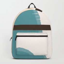 Perched lady (blue) Backpack