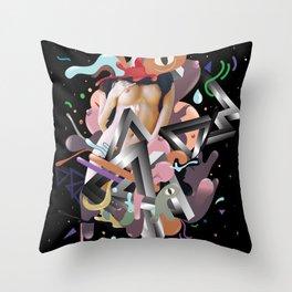 Galactico Throw Pillow