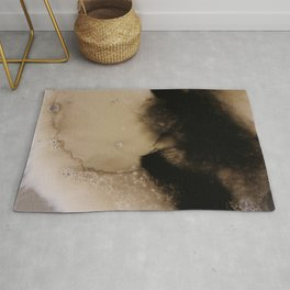 Ink Froth Rug