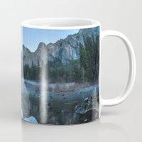 yosemite Mugs featuring Yosemite by Kelly Moncure