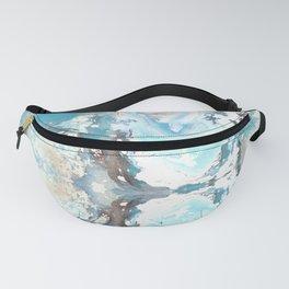 Sea Spray Pattern - Casart Sea Life Treasures Collection Fanny Pack