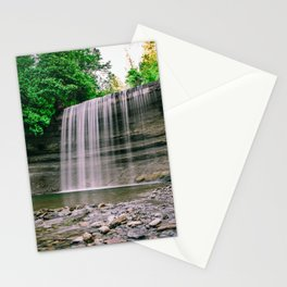 Bridal Viel Falls, Manitoulin Island, Ontario Canada Stationery Cards