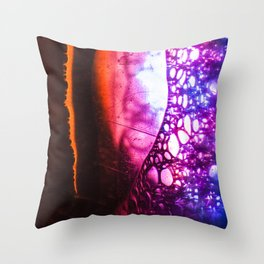 Cyberbubbles 002 Throw Pillow
