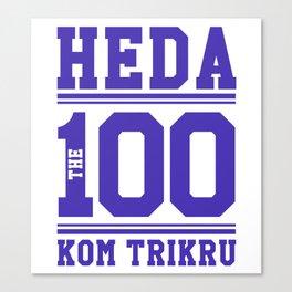 Heda Kom TriKru Canvas Print