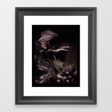 Dearg Doom the dragon Slayer Framed Art Print