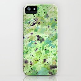 Toxic speckle iPhone Case