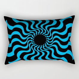 EYE 2(BLACK/BLUE) Rectangular Pillow