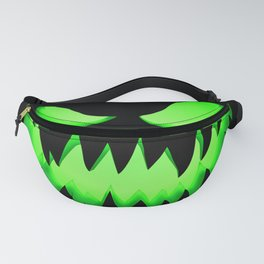 Evil Green ghost Fanny Pack