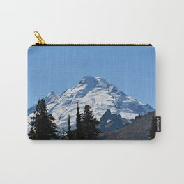 Snow Cap on the Mountain Carry-All Pouch