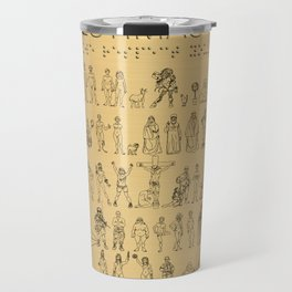 The Postmodern Pioneer Plaque Travel Mug