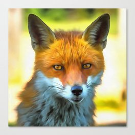 Foxy by Nature Canvas Print