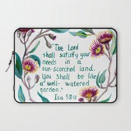 Isaiah 58:11 Laptop Sleeve