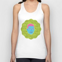 fresh prince Tank Tops featuring Carlton - The fresh prince of Bel-Air by Kuki