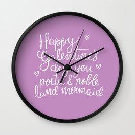 Galentine's Day Wall Clock