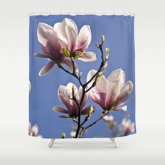 MAGIC MAGNOLIA Shower Curtain