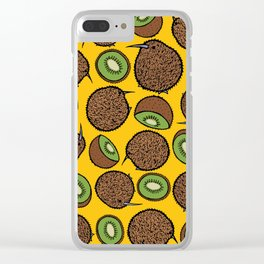Kiwi Clear iPhone Case