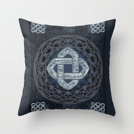 Wonderful celtic knot Throw Pillow