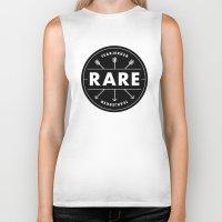 rare Biker Tanks featuring Rare by Taylor Shute