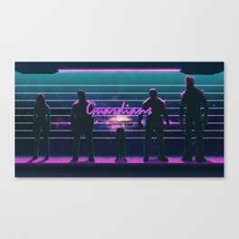 What a Bunch of Guardians Canvas Print