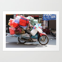 True cargo bike Art Print