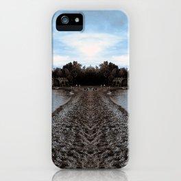 Art Print 1 Lake Superior Mirror 2 [Jordan E. Eismont, Cecilia Lee] iPhone Case
