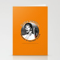 oitnb Stationery Cards featuring Gloria Mendoza - OITNB Character by Sandi Panda