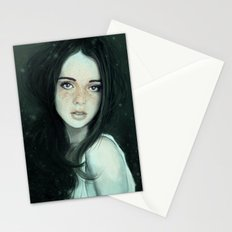 Ghosting of the Passing Innocence Stationery Cards