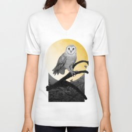 Golden Owl Unisex V-Neck