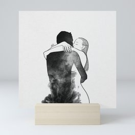 I am the luckiest to have you. Mini Art Print